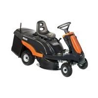 Les autoportées appelés rider (avec moteur sous le siège), petites et compactes, permettent de se déplacer facilement dans des jardins à végétation épaisse et où il est nécessaire de ramasser l'herbe ou même de convertir en mulching.